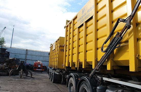 morecambe metals transporter