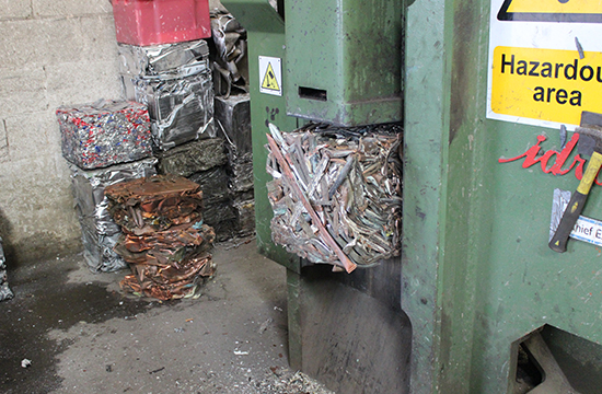 non ferrous metal recycling