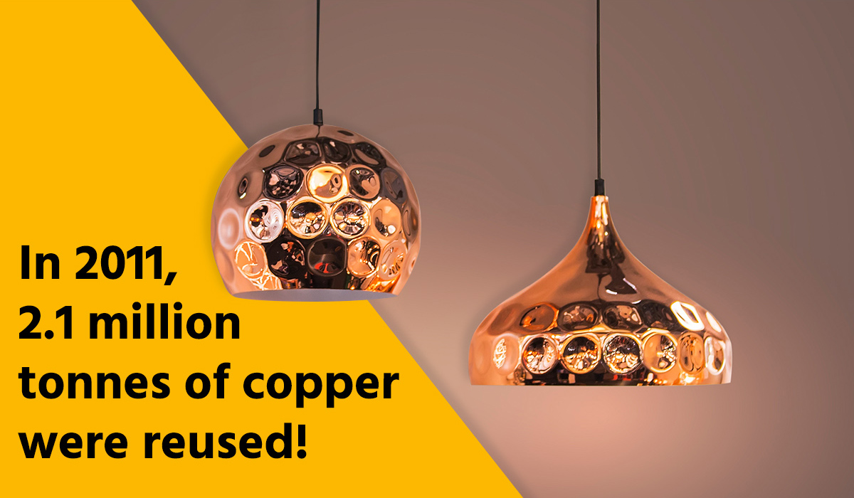 copper decorations and facts