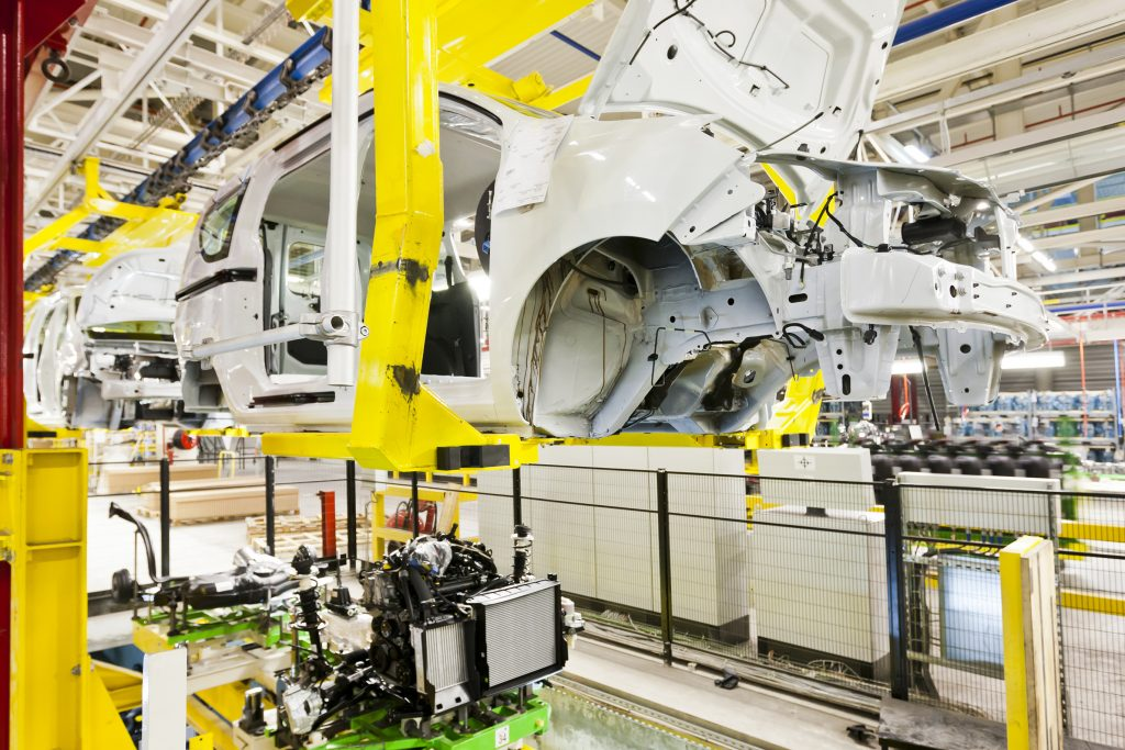 aluminium is used in the automotive industry