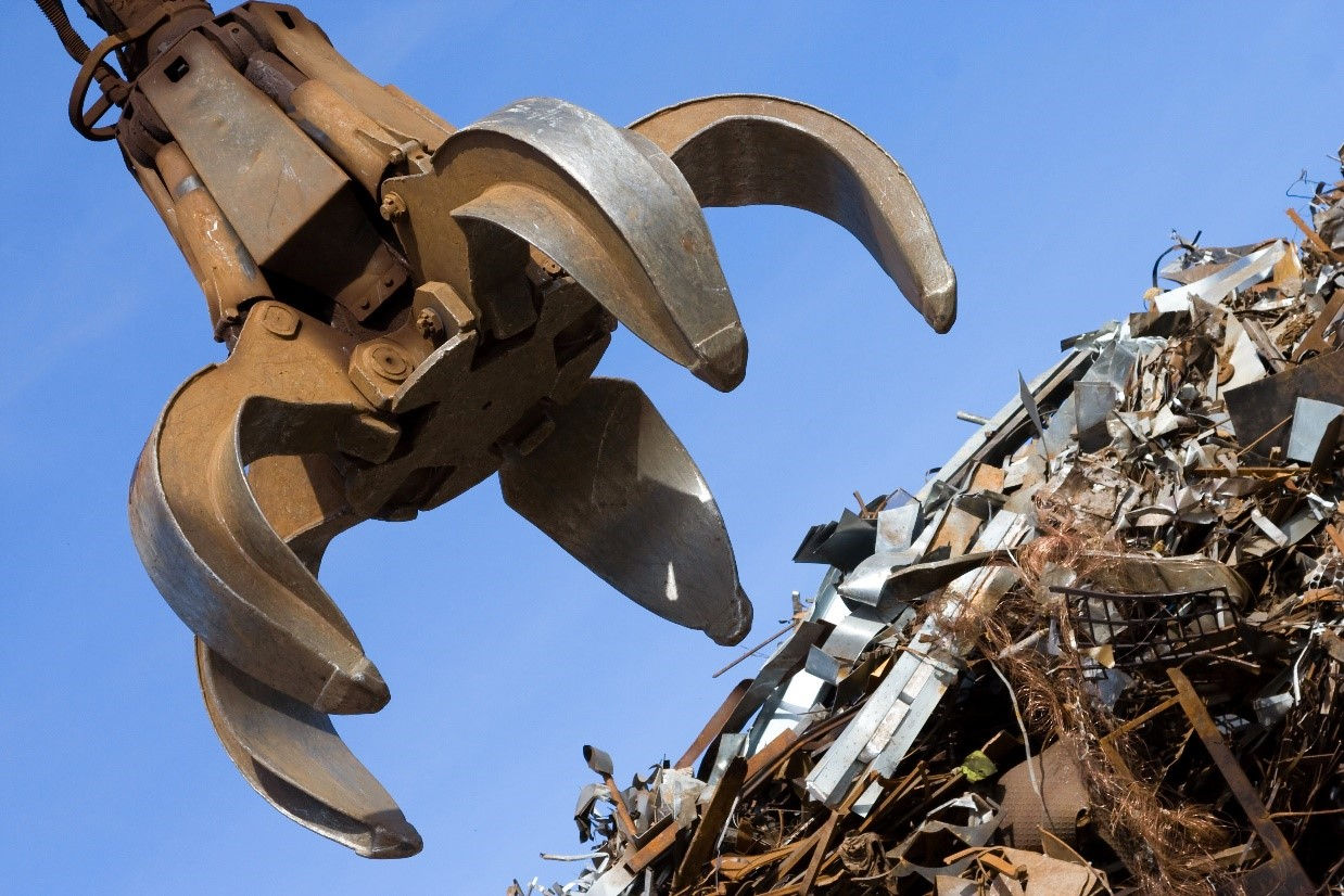 scrap metal recycling at morecambe metals