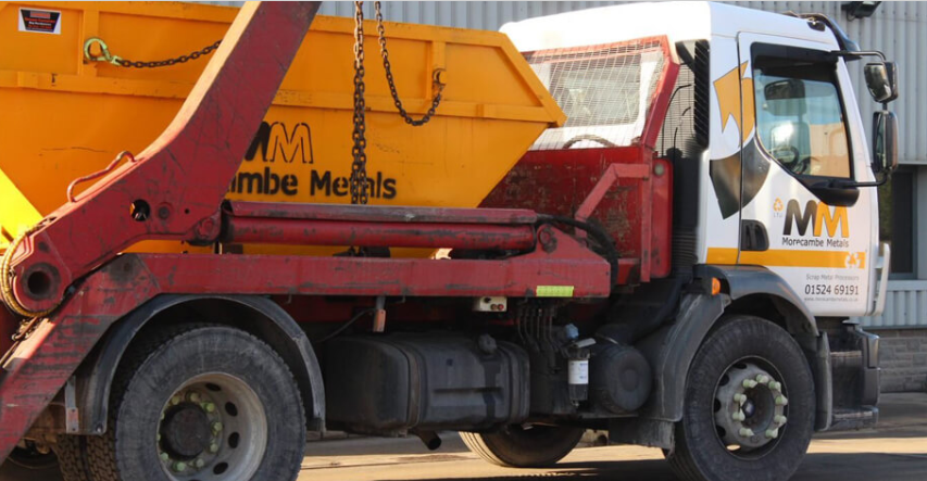 Morecambe Metals Skip