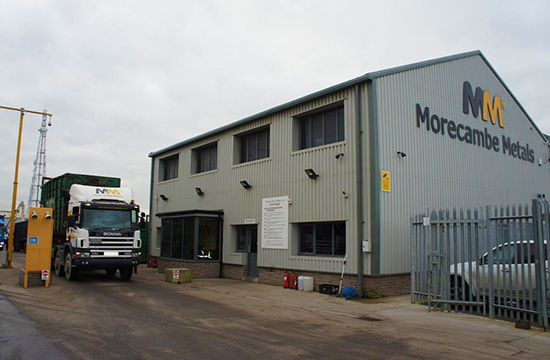 morecambe metals building front