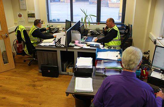 morecambe metals office staff
