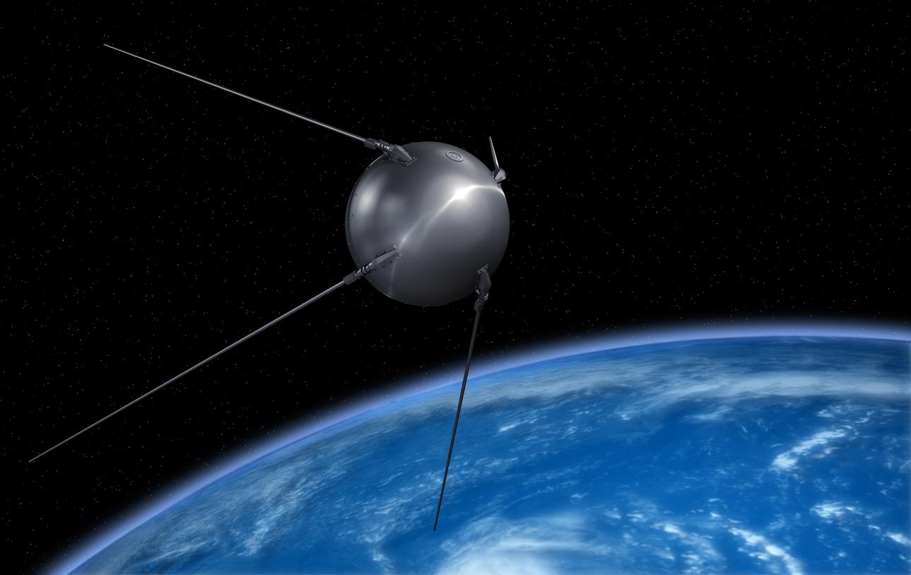 Aluminium has been used in spacecraft since sputnik 1